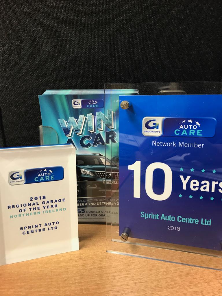 Sprint Auto Regional Garage of the Year, Northern Ireland, 2018